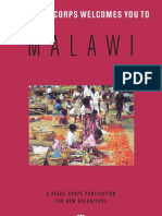 Peace Corps Malawi Welcome Book  |  September 2006