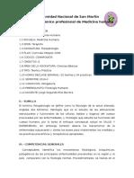Sílabo de Fisiopatología