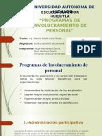Programas de Involucramiento