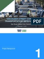Van Duzer Street Corridor Safety Improvements