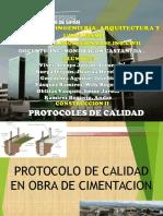 Protocolos de Calidad