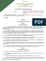 DECRETO No 455, DE 26 DE FEVEREIRO DE 1992.