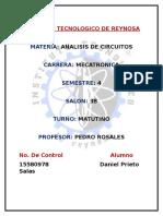 Análisis de Circuitos Eléctricos DPs