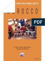Peace Corps Morocco Welcome Book  |  October 2006