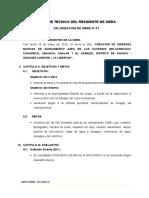 Informe Tecnico de Residente Mes Mayo