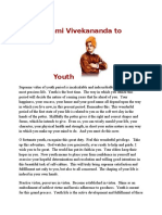 Swami Vivekananda to Youth