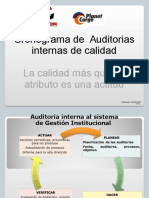 Proceso Auditoria Interna 2016