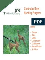 Bow Hunting Qualification Presentation FINAL