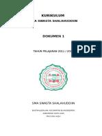 Ktsp Sma Shalahuddiin Dokumen 1