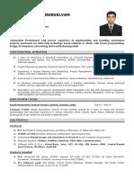Arav in d Resume