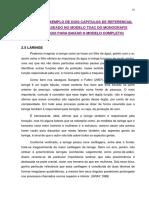 EXEMPLO DE REFERENCIAL TEORICO