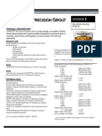 Data_sheet Non Shrink Precision Grout 1585 00