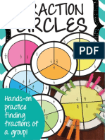 Fraction Circles a Fun Way to Find a Fraction of a Group