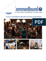 CommonBound Report to Supporters