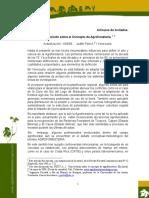 Una Revision sobre el concepto de Agroforesteria