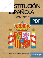 Constitucion Espanola de 1978 (Anotada) - Las Cortes (Congreso de Los Diputados y