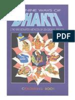 Os Nove Caminhos de Bhakti - Livro Para Colorir