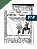 Libro de Vihuela de Mudarra