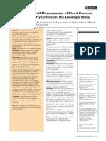 2005 Effectiveness of Self-Measurement of Blood Pressure HEM 705CP OMRON