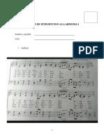 Examen de Introducion a La Armonia