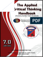 Best Book on Critical Thinking ( FAS)