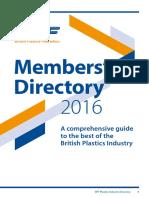 BPF Industry Directory 2016