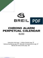 Manual Utilizare Ceas Breil Cal. 6u50