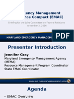 EMAC Compact - Presentation for Nov 2 Joint Committee on Federal Relations - FINAL - 25 Oct 2016