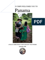 Peace Corps Panama Welcome Book  September 2009