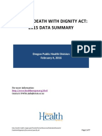 OREGON DEATH WITH DIGNITY ACT: