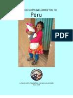 Peace Corps Peru Welcome Book  |  April 2009