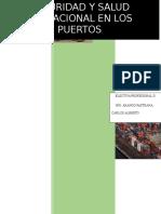Seguridad Industrial en Puertos