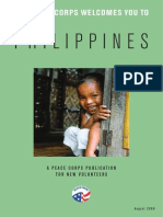 Peace Corps Philippines Welcome Book     August 2009