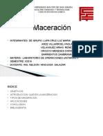presentacion maceracion