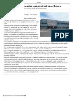 29/07/16 Confirma Salud Dos Muertes Más Por Rickettsia en Sonora - El Diario