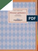 Verlaine - Fiestas Galantes
