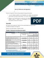 Evidencia 3 ELABORACIÓN DE DIAGNOSTICO