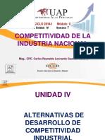 Alternativas de Desarrollo de Competitividad Industrial