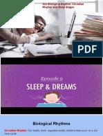 2  sleep- circadian rhythm and stages of sleep