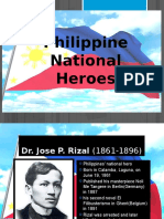 Philippine National Heroes Report
