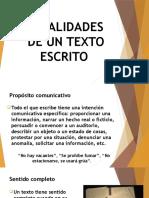 El Texto y Sus Elementos