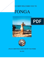 Peace Corps Tonga Welcome Book  |  May 2010