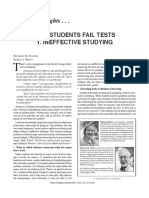 Why Students Fail Tests
