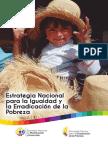 Estrategia Nacional Para La Igualdad y Erradicación de La Pobreza Libro