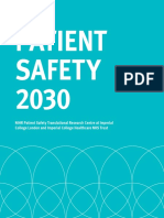 Patient Safety 2030 Report VFinal