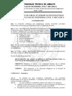 Reglamento de Giras Academicas
