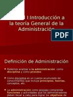 Introducción a La Teoría General de La Administración (1)
