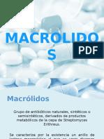 Farmaco Macrolidos