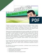 EXEMPLO DE CONCLUSAO DE TCC