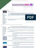 Da Aplicação dos Prazos de Prescrição Criminal no âmbito do Processo Administrativo Disciplinar - Artigos - Conteúdo Jurídico